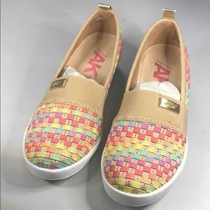 (p270) Anne Klein Yourock Wedge Sneakers  Multi 6M
